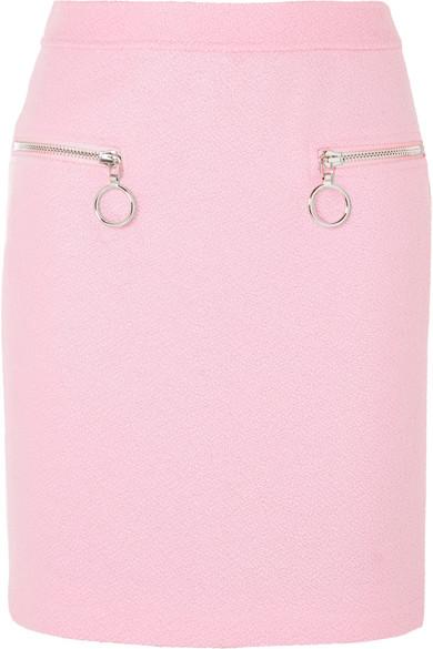 Moschino - Wool-blend Skirt - Pink