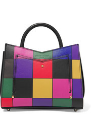 Toy printed leather tote