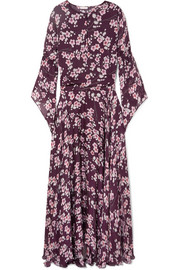 Claire floral-print silk-chiffon maxi dress