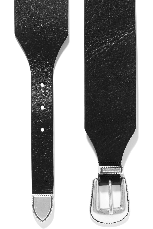Philosophy di Lorenzo Serafini Leather belt