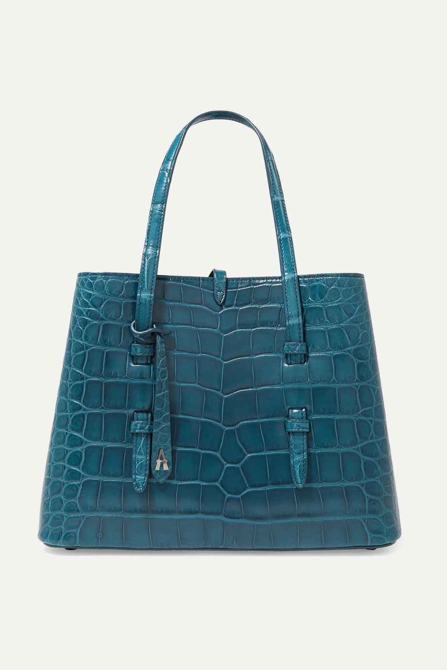 Alaïa Sac à main en alligator Mina Small