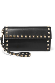 Valentino Garavani The Rockstud leather continental wallet