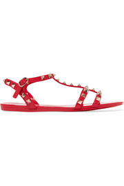 Valentino Valentino Garavani The Rockstud rubber sandals