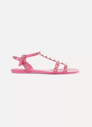 39f005659199 Valentino. Valentino Garavani The Rockstud rubber sandals