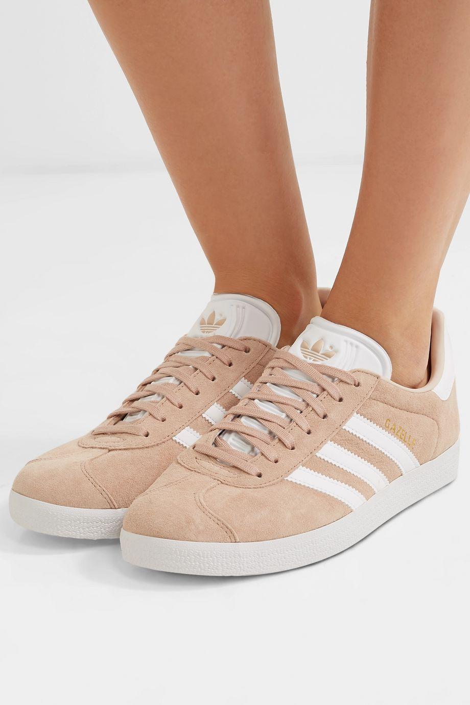 adidas Originals Baskets en daim et en cuir Gazelle