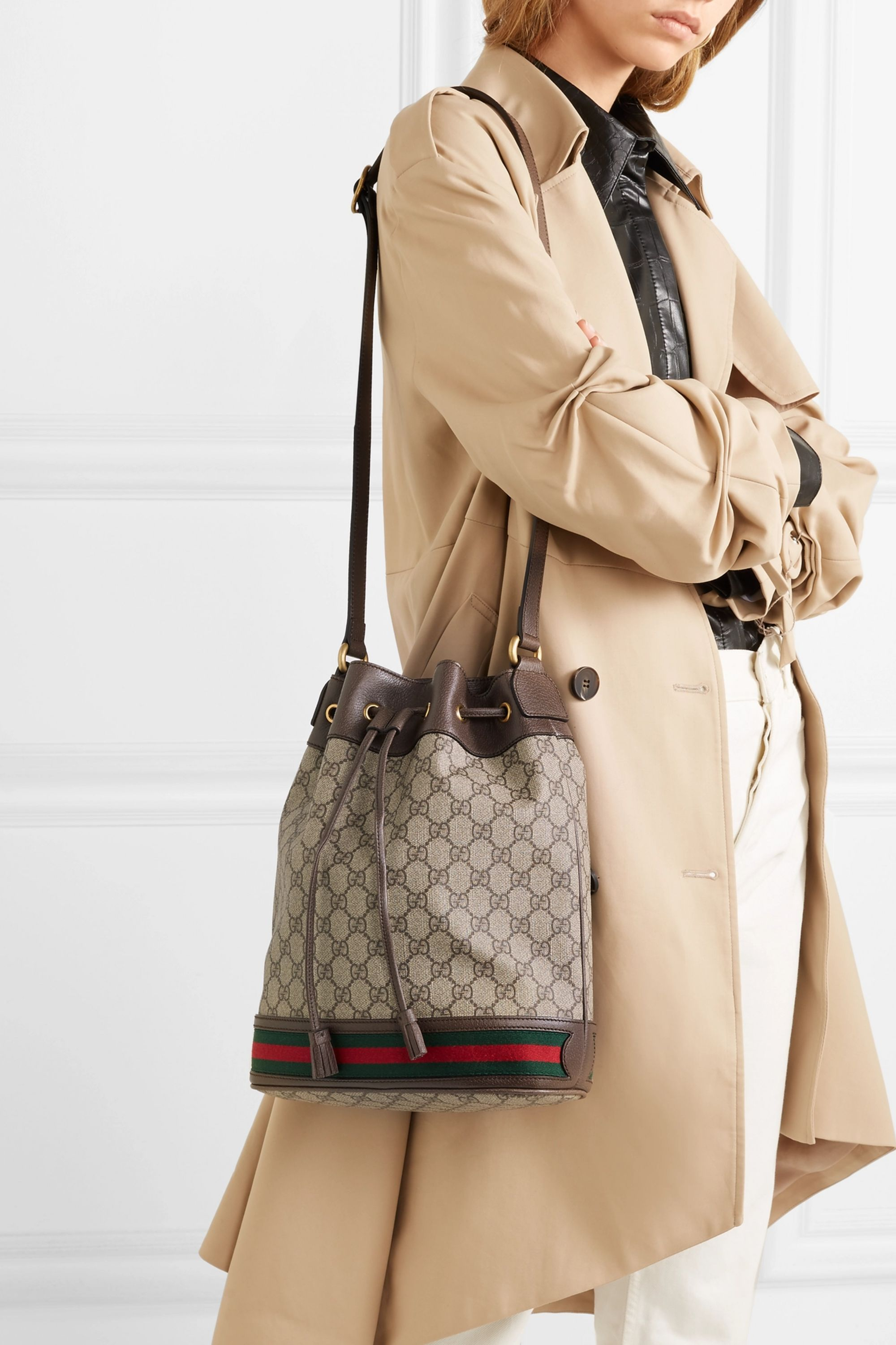 Ophidia Bucket Bag Shop Clothing Shoes Online