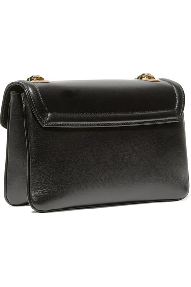 00d717f5381d Gucci | Rajah small embellished leather shoulder bag | NET-A-PORTER.COM