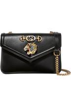 ba6de86de6f4 Gucci Rajah small embellished leather shoulder bag