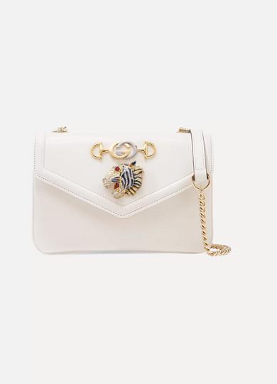 c5234f41d78 Gucci. Rajah embellished leather shoulder bag