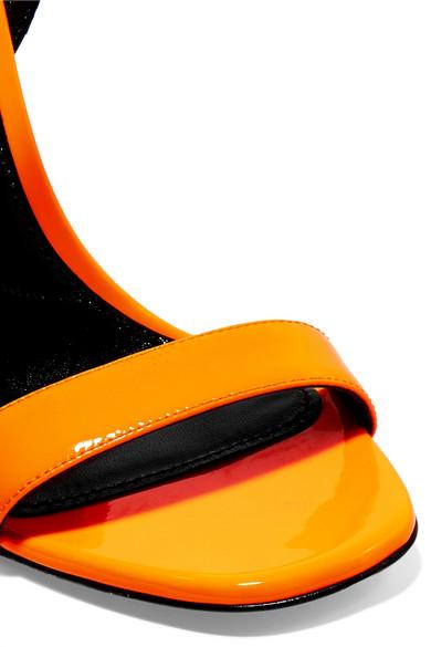 Prada   Wedges Wedges   aus neonfarbenem Lackleder aef940