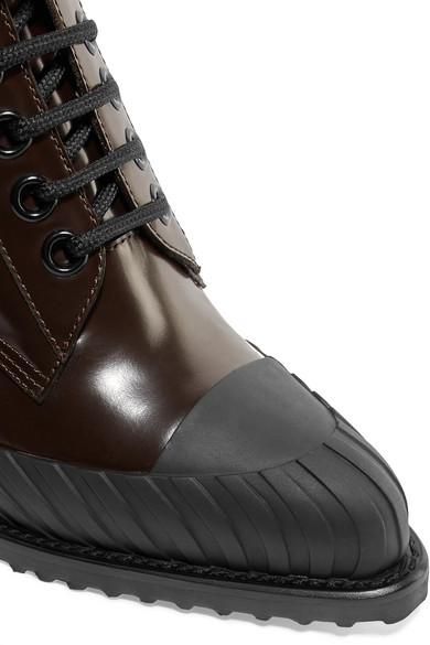 Chloé | Rylee zweifarbige aus Ankle Boots aus zweifarbige Glanzleder c89d4c