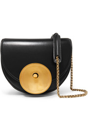 Monile small leather shoulder bag