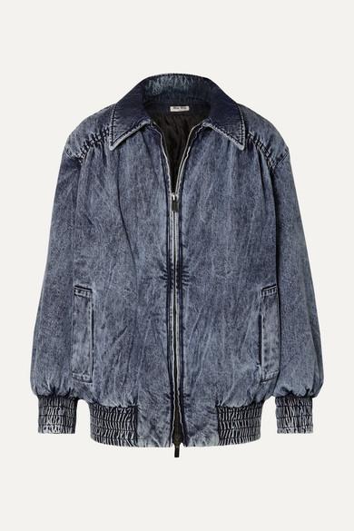 63cd3b9511 Miu Miu. Oversized denim jacket