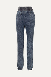 Miu Miu High-rise tapered jeans