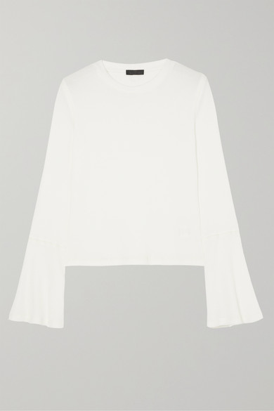 Waffle Knit Stretch Jersey Top by The Range