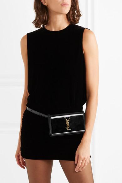 Saint Laurent. Kate patent-leather belt bag 20882e0a71c62