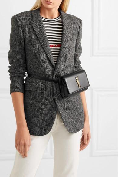 1206a46b1af SAINT LAURENT | Kate leather belt bag | NET-A-PORTER.COM