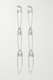 Balenciaga Silver-tone earrings