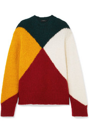 Derek Lam Color-block knitted sweater