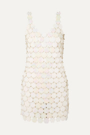 Paco Rabanne Sequined mini dress
