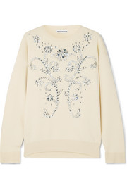 Paco Rabanne Embellished wool-blend sweater