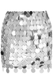 Paco Rabanne Sequined mini skirt