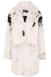 Common Leisure Dream oversized shearling coat