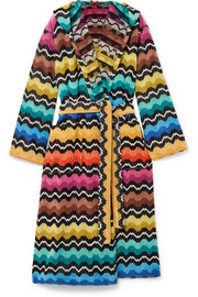 Missoni Home Hooded cotton-terry robe