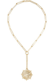 Passion 18-karat gold diamond necklace