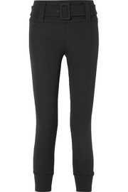 Prada Cropped tech-jersey straight-leg pants