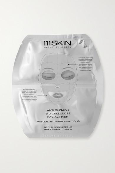 111SKIN ANTI BLEMISH BIO CELLULOSE FACIAL MASK, 5 X 25ML - COLORLESS