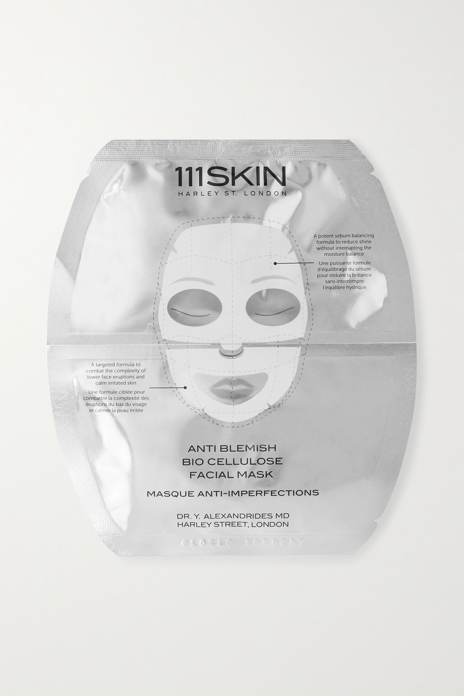 111SKIN Masque anti-imperfections pour le visage Bio Cellulose
