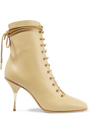 Petar Petrov Stella lace-up leather ankle boots