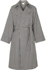 SIMON MILLER Palmoba houndstooth tweed coat
