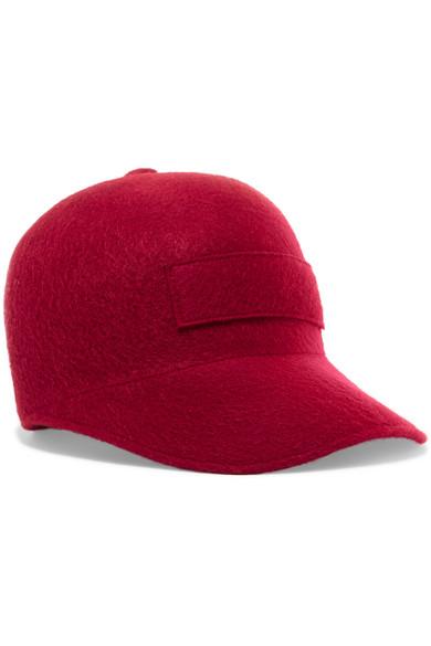 Gabriela Hearst - Cashmere Baseball Cap - Red