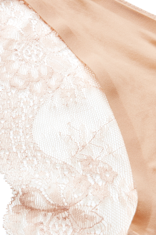 Stella McCartney Stella stretch-jersey and lace briefs