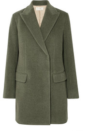 The Row Mewey wool-blend twill coat