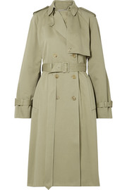 The Row Triana cotton-twill trench coat