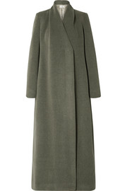 The Row Nalty wool-blend twill coat