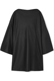 The Row Harper oversized wool-felt dress