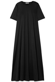 The Row Rosing silk and cotton-blend jersey maxi dress