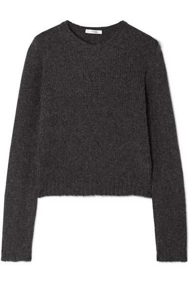 The Row - Droi Cashmere-blend Sweater - Charcoal