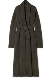 The Row Gioli oversized belted cashmere-blend cardigan