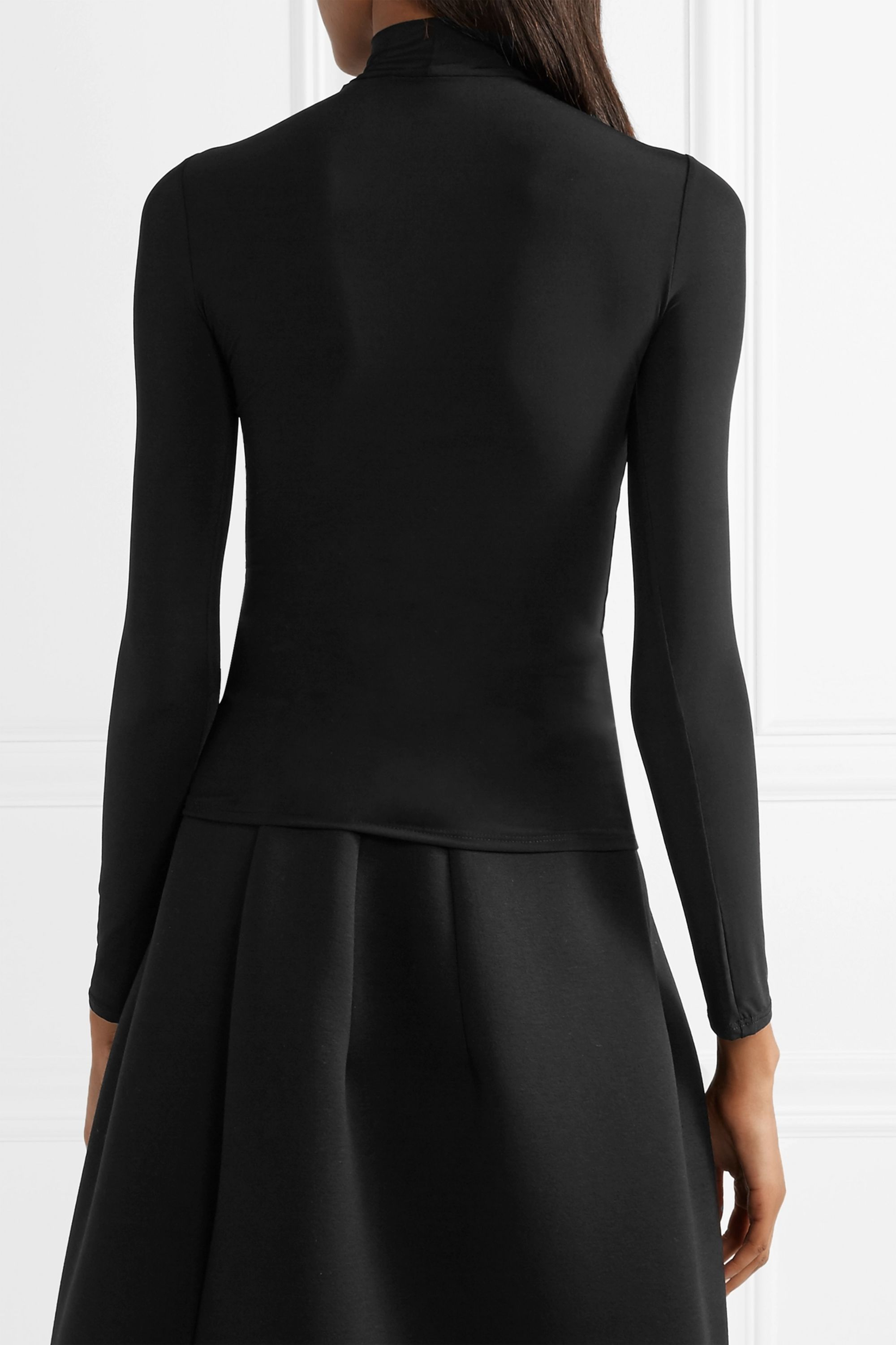 The Row Rudd stretch-jersey turtleneck top