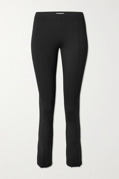 THE ROW Thilde stretch-scuba slim-leg pants