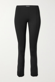The Row Thilde stretch-scuba slim-leg pants