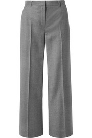 The Row Ina grain de poudre wool straight-leg pants