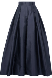 The Row Garcia silk-satin wide-leg pants