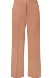 The Row Ina wool-twill straight-leg pants