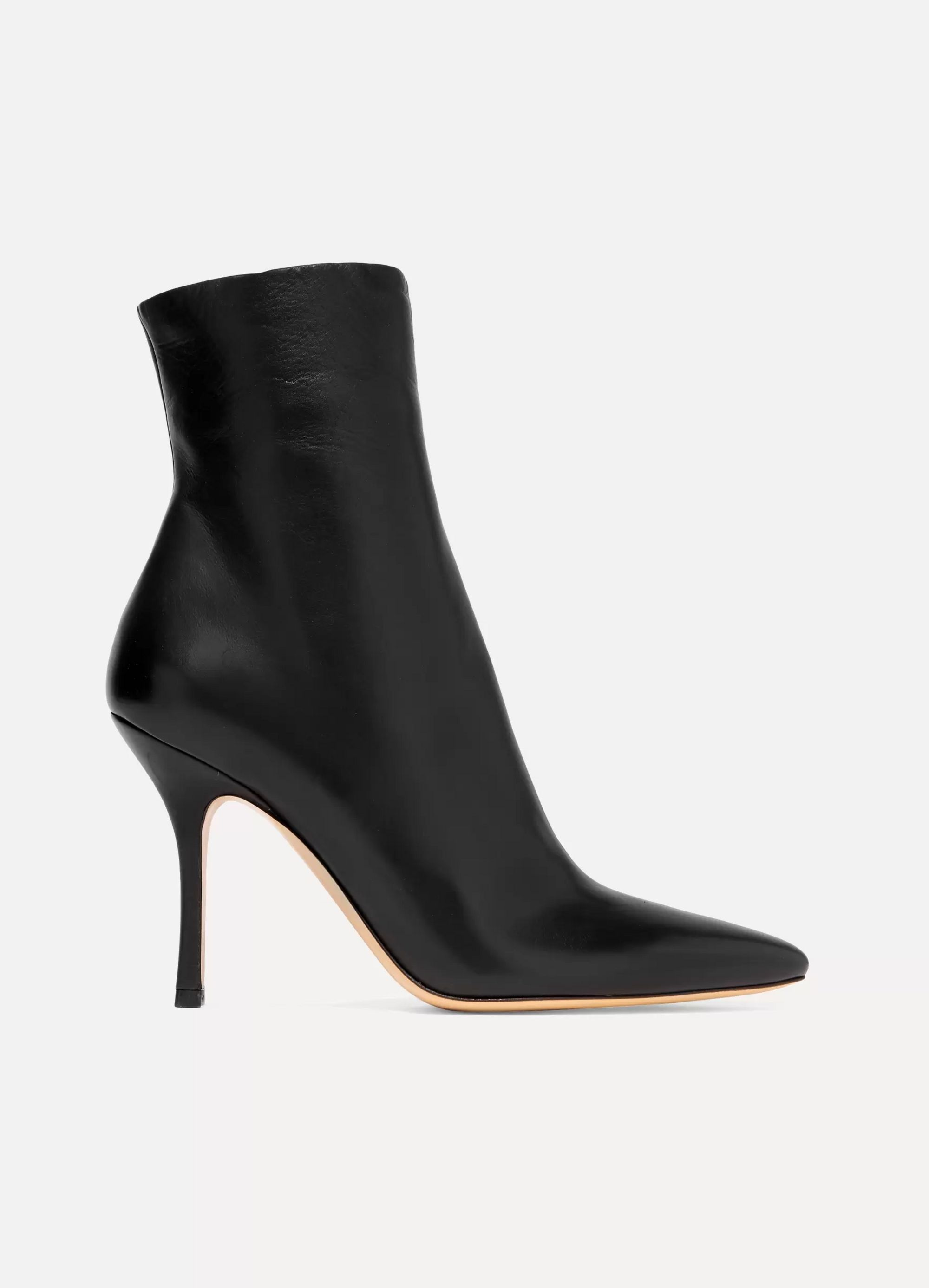 Black Gloria leather ankle boots | The Row | NET-A-PORTER